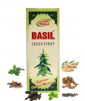 Basil cough syrup