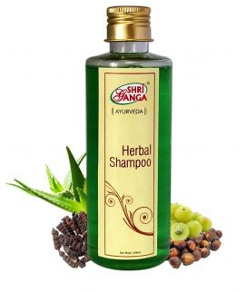 Shri ganga herbal shampoo